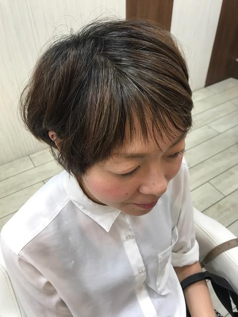 坂井さん髪の毛染めました